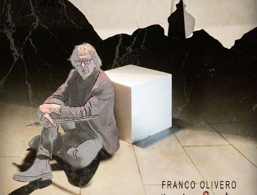 Franco Olivero nella copertina del disco MusicaParte