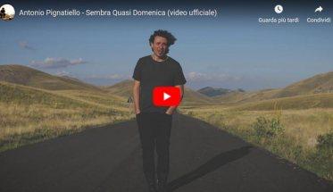 Antonio Pignatiello nella copertina del video Sembra Quasi Domenica