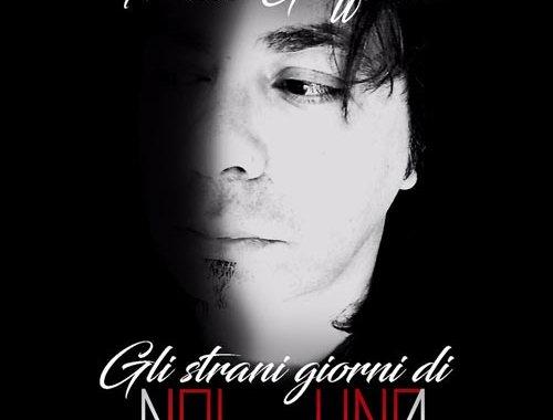 Franco Giaffreda nella copertina del suo disco Gli strani giorni di NOInessUNO | DIsco