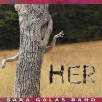 Sara Galas Band: HER, copertina del disco