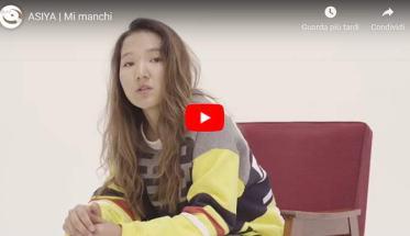 "ASIYA nella copertina del video di ""Mi manchi"""