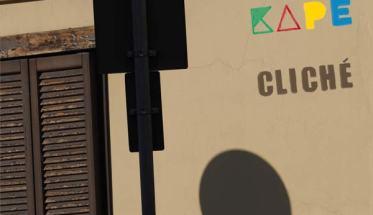 Copertina del disco di KAPE: Cliché