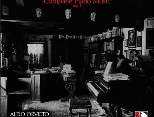 Copertina del disco Gian Francesco Malipiero: Complete Piano Music vol.1