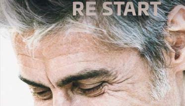 Luciano Ligabue nella copertina del libro di Patrizia De Rossi: Luciano Ligabue Re Start | Libro