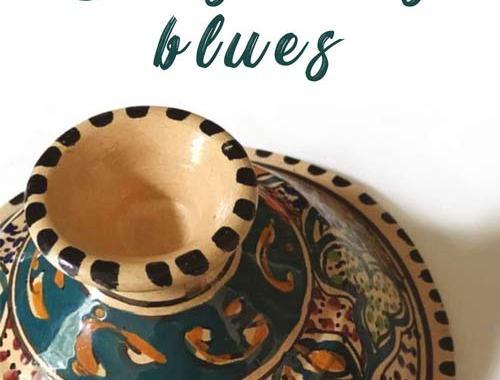 Copertina del libro di Dario la Rosa: Cous cous blues
