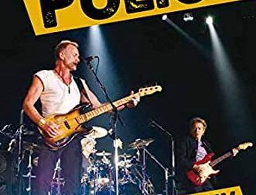 I Police nella copertina del libro di Giovanni Pollastri: The Police, Many Miles Away