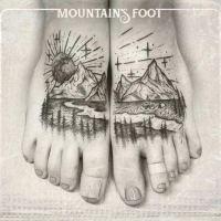 Copertina del disco di Mountain's Foot con la foto di due piedi