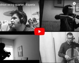 """GliEsperia nella copertina del video el fashion"""" string quartet"""
