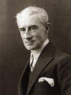 Maurice Ravel compositore e pianista autore de Le tombeau de Couperin