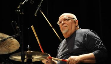 Ellade Bandini alla batteria