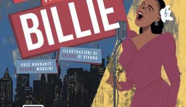 un disegno di Billie Holiday in copertina del libro di Reno Brandoni: L'ultimo viaggio di Billie