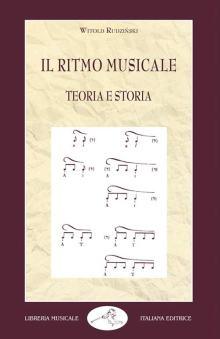 copertina del libro di Witold Rudziński: Il ritmo musicale. Teoria e Storia