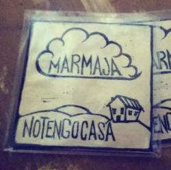 Copertina del disco Notengocasa dei Marmaja