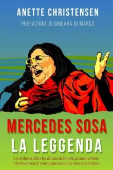 Mercedes Sosa in disegno nella copertina del libro La Leggenda | Libro