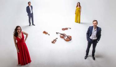 I 4 componenti di Alinde Quartett