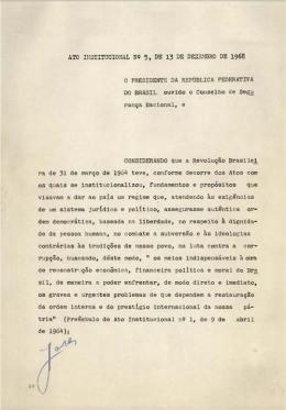 Ato Institucional n.5