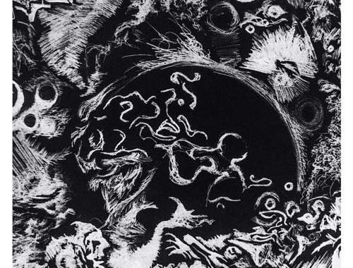 Copertina disco di Karrambah, Memorie Notturne di Sogni Diurni