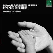 mano di adulto e di bambino in copertina disco di Giovanni Sanguineti: Remember the Future