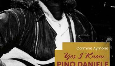 Pino Daniele in copertina del libro YES I KNOW… PINO DANIELE