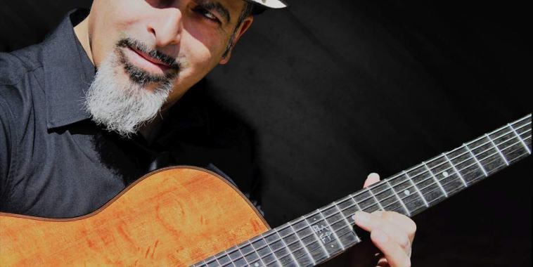 Il chitarrista Pietro Lazazzara