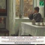 Un dipinto nella copertina del disco di Proscenio Ensemble: Ô Doux Printemps d'Autrefois