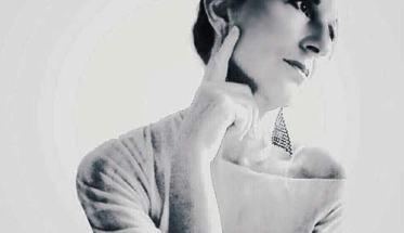 """Antonella Vitale in copertina del disco """"Segni invisibili"""""""