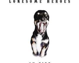 cane che ringhia in copertina del disco: On Fire di Lonesome Heroes