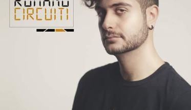 Riccardo Romano in copertina del suo disco: Circuiti EP