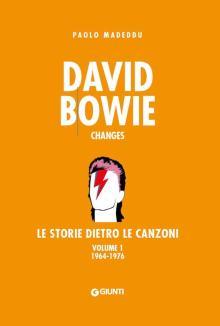 copertina libro arancione David Bowie le storie dietro le canzoni vol.1