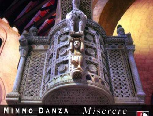 organo in copertina del disco di Mimmo Danza: Miserere