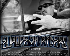 Prhome in copertina del disco European Riders