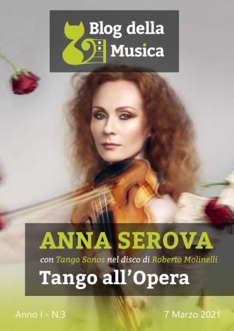 Anna Serova | In Copertina su Blog della Musica, n.3-2021