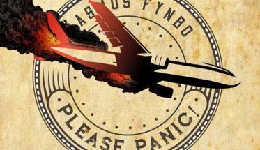 Copertina del disco di Rasmus Fynbo: Please Panic!