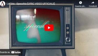 Una tv vecchia in copertina del video dei LaCùra: Specchio