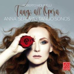 Anna Serova in copertina del disco Tango All'Opera