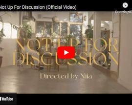 Copertina video di Niia: Not Up For Discussion