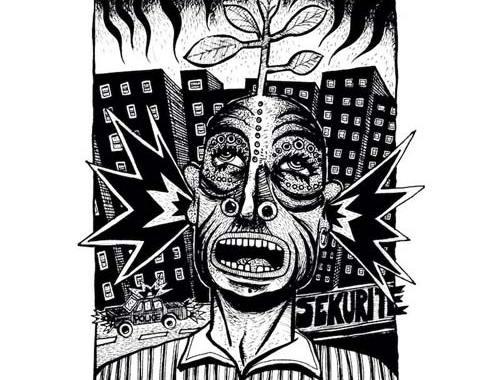 copertina dell'ep dei LaCùra: Tra ignoranza e realtà