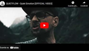 I QUIETFLOW: in copertina del video di Quiet Emotion
