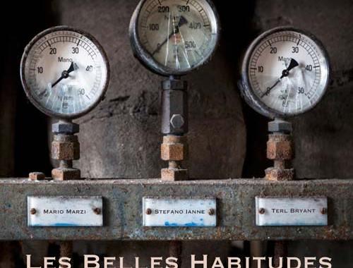 copertina del disco di Stefano Ianne: Les Belles Habitudes