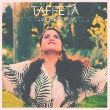 Luiza Constantin in copertina del disco Taffetà
