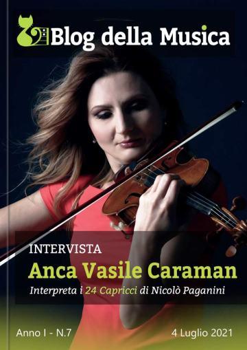 ANCA VASILE CARAMAN in Copertina su Blog della Musica