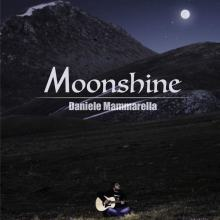Copertina del disco di Daniele Mammarella: Moonshine