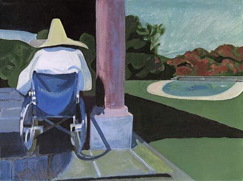 Il dipinto dedicato da Joni a Carlie Mingus, intitolato Charlie Down In Mexico