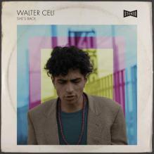 Walter Celi in copertina del disco She's Back