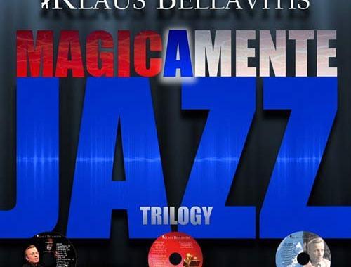 copertina del disco di Klaus Bellavitis, Magicamente Jazz