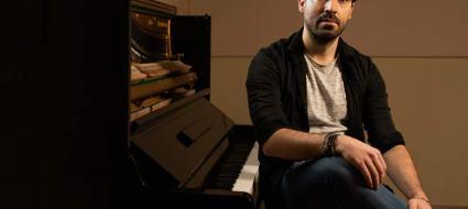 Andrea Barone al pianoforte