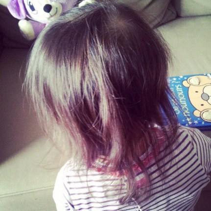 Les cheveux poussent