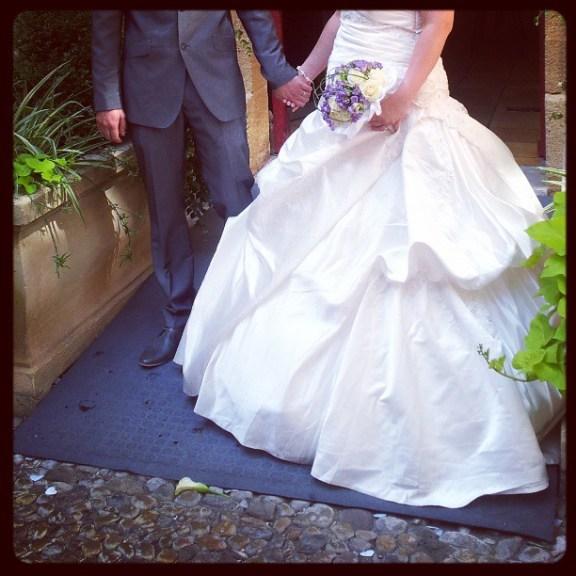 Les mariés !