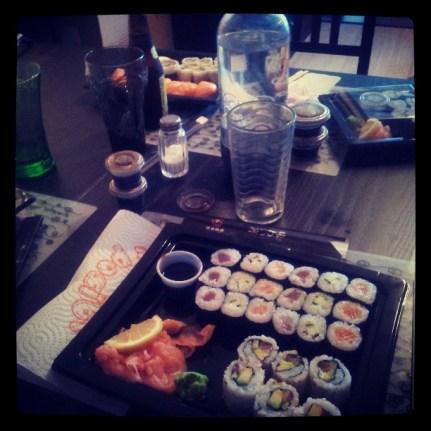 Soirée sushis !