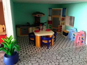 maison playmobil cuisine